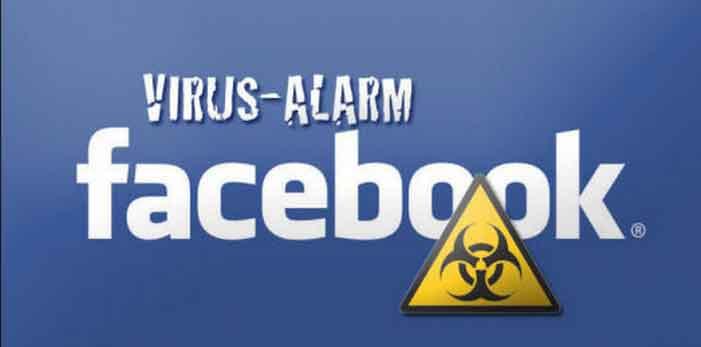 come rimuovere virus facebook