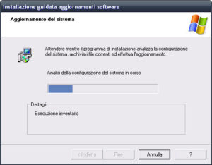 aggiornamento per windows xp