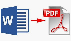 come convertire file word in pdf